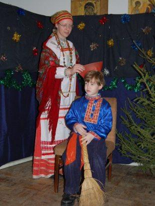 Рождественский праздник для малышей 2007