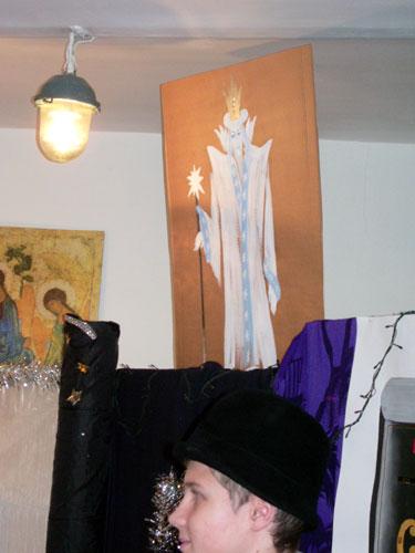 Рождественский праздник для малышей 2008. Снежная королева.